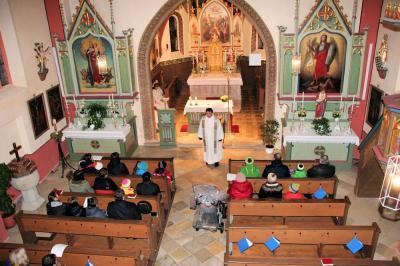 In der Pfarrkirche St. Laurentius